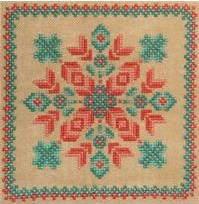 Cross-Point Designs - Southwestern Garden - Cross Stitch Pattern