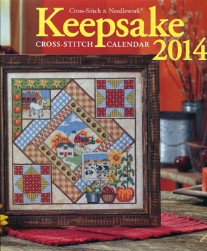 Cross Stitch & Needlework - Keepsake Calendar 2014 - Cross Stitch Calendar