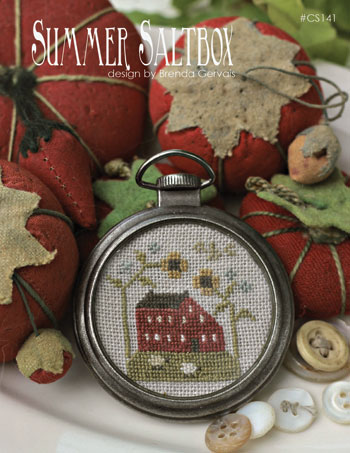 Country Stitches - Summer Saltbox - Cross Stitch Pattern
