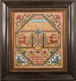 Cherished Stitches - Dancing Deer - Cross Stitch Pattern