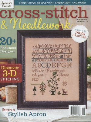 Cross Stitch & Needlework Magazine - 2014 - 6 - November/December