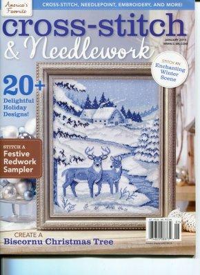 Cross Stitch & Needlework Magazine - 2015 - #1 - January/February
