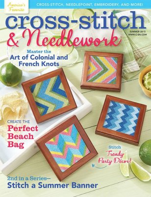 Cross Stitch & Needlework Magazine - 2015 - #3 - Summer 2015
