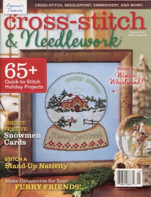 Cross-Stitch & Needlework Magazine - 2015 - #5 - Holiday Issue