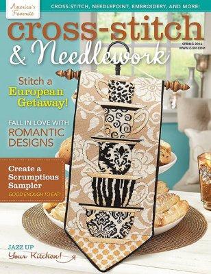 Cross-Stitch & Needlework Magazine - 2016 #1 - Spring