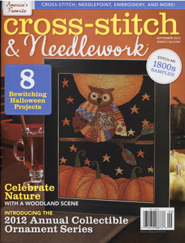 Cross Stitch & Needlework Magazine - September 2012