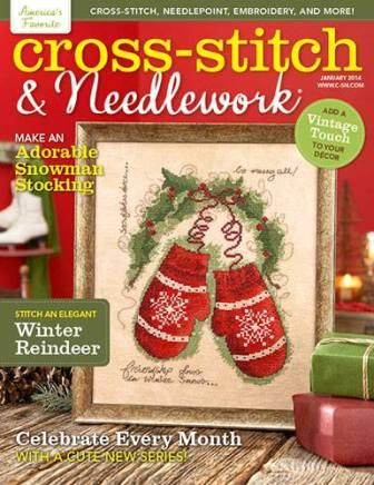 Cross Stitch & Needlework Magazine - No. 1 - January 2014