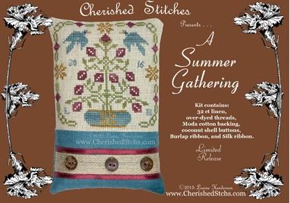 Cherished Stitches - A Summer Gathering