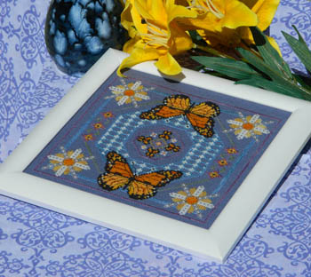 Ships Manor - Dance of the Butterflies - Cross Stitch Chart