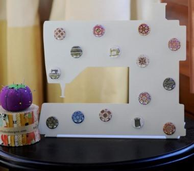 Stitch Dots - Sewing Machine Magnet Board