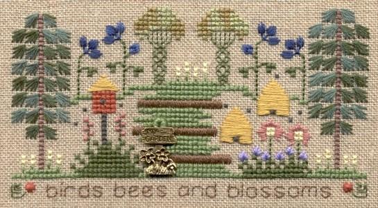 Elizabeth's Designs - Birds & Bees Chartpack