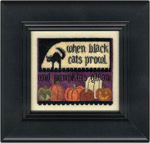 Erica Michaels Needleart Designs - Cats & Pumpkins - Cross Stitch Pattern