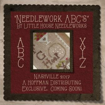 Little House Needleworks - Needlework ABC's - Nashville Exclusive Kit-Little House Needleworks - Needlework ABCs, Hoffman Exclusive