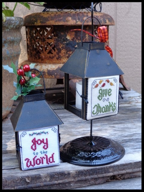 Faithwurks Designs - Mini Lantern Greetings #1