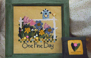 SamSarah Design Studio - One Fine Day - Cross Stitch Pattern