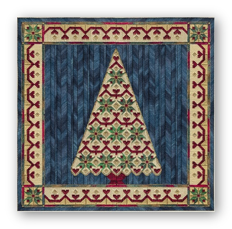 From Nancy's Needle - Holiday Tree IV - Counted Canvas Pattern