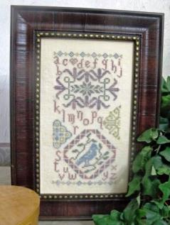 From The Heart - Colorful Quaker Series - Summer Quaker - Cross Stitch Pattern