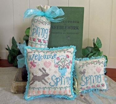 From The Heart - Needleart by Wendy - Welcome Spring