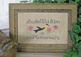 From The Heart - Needleart by Wendy - Goldfinch Sampler