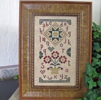 From the Heart Needleart by Wendy - Christmas Quaker