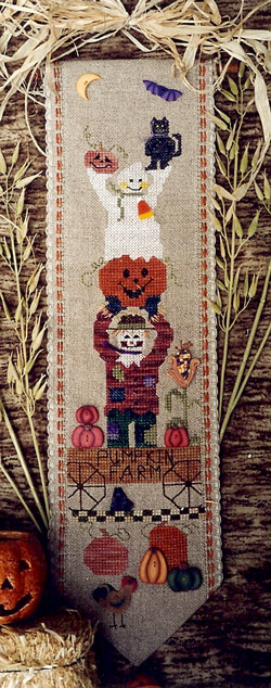 Fanci That - The Pumpkin Farm - Cross Stitch Pattern