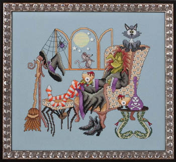 Glendon Place - Come Sit A Spell - Cross Stitch Pattern