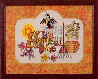 Glendon Place - It's Harvest Time - Cross Stitch Pattern