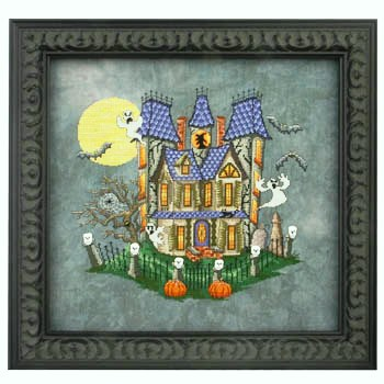 Glendon Place - Murky Manor - Cross Stitch Pattern