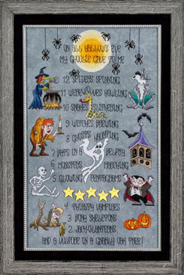Glendon Place - All Hallows Eve - Cross Stitch Pattern