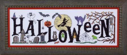 Glendon Place - Boo From The Crew - Cross Stitch Pattern