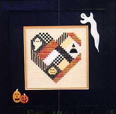 Sekas & Co - A Halloween Heart - Cross Stitch Pattern