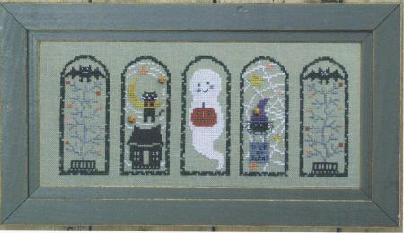 Bent Creek - Halloween Arches - Cross Stitch Pattern