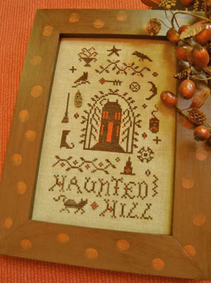 Homespun Elegance - Country Spirits Collection - Haunted Hill House - Cross Stitch Pattern