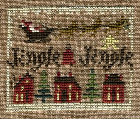 Homespun Elegance - Sampler Ornament 2011- Jingle Jingle - Cross Stitch Pattern