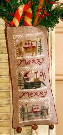 Homespun Elegance - Merry Noel Collection - Merry Meowies - Cross Stitch Pattern