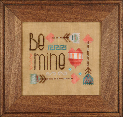Heart in Hand Needleart - Be Mine - Cross Stitch Pattern