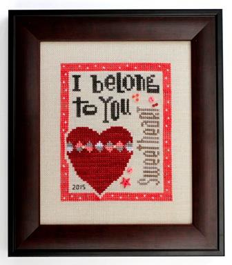 Heart in Hand Needleart - 2015 Collector's Heart - Cross Stitch Kit