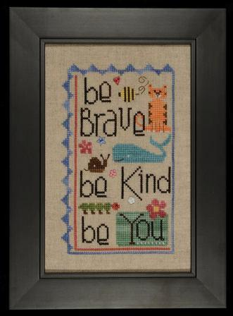 Heart in Hand Needleart - Be You - Cross Stitch Pattern