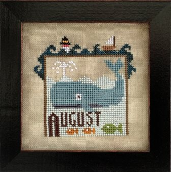 Heart In Hand Needleart - Joyful Journal - Part 09 of 12 - August