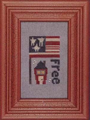 Heart in Hand Needleart - Curio - Free
