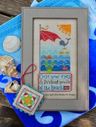Hands On Design - At The Beach - Cross Stitch Chart