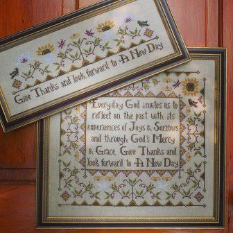 Hands On Design - Everyday Sampler - Cross Stitch Pattern