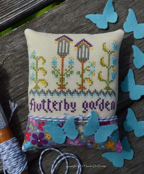 Hands On Design - Flutter By Garden - Limited Edition Chartpack - Summer 2015