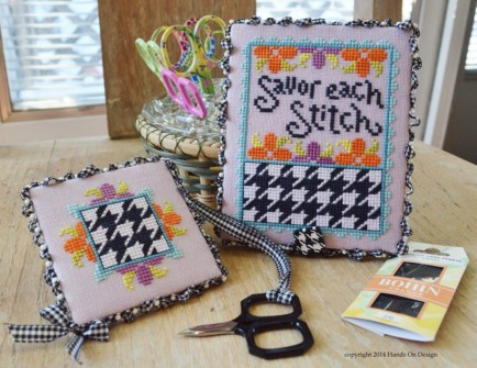 Hands On Design - Savor Each Stitch - Cross Stitch Pattern