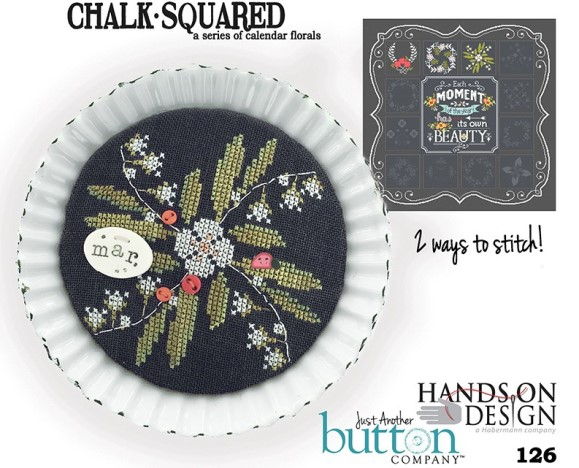 Hands On Design & Just Another Button Co - Chalk Squared #03 March