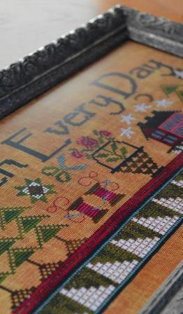 Hands On Design - Stitch Every Day - Cross Stitch Pattern