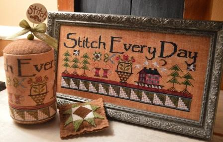 Hands On Design - Stitch Every Day - Cross Stitch Pattern