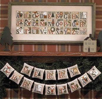 Prairie Schooler - Christmas Alphabet-Prairie Schooler - Christmas Alphabet
