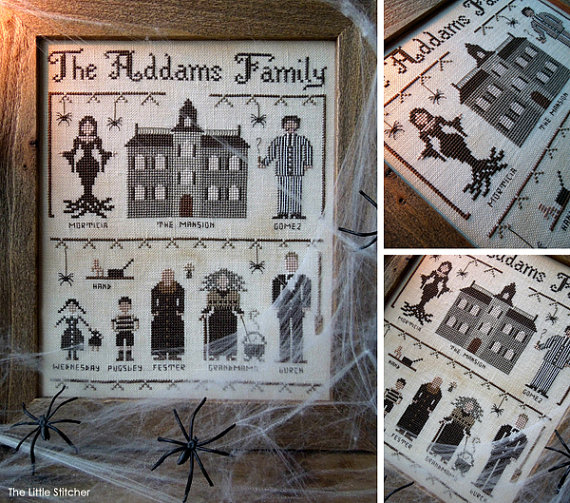 The Little Stitcher - The Addams Family