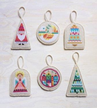 Satsuma Street - Christmas Ornaments - Set 1